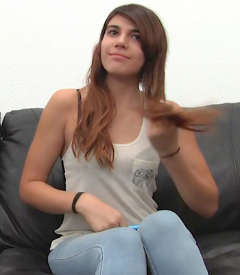Backroom Casting Couch With Ava