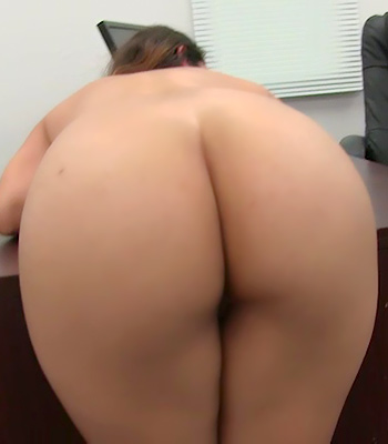Sara On Backroom Casting Couch