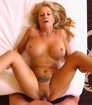 Busty Cougar MILF