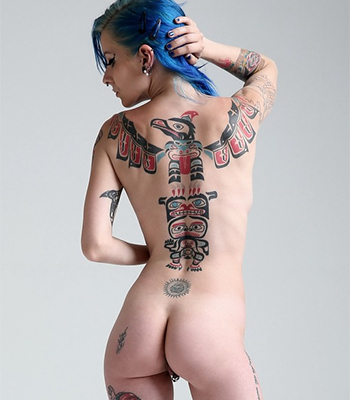 With tattoos girls kinky