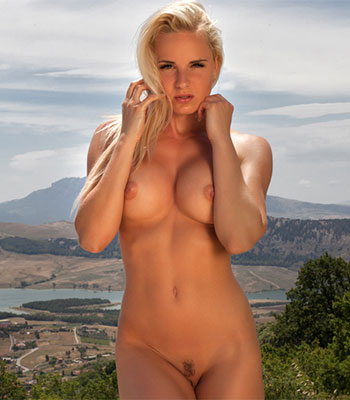 Beachgirls nerdy nude blonde
