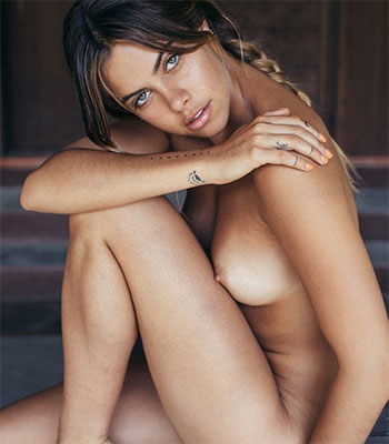 Brazilian hot model naked